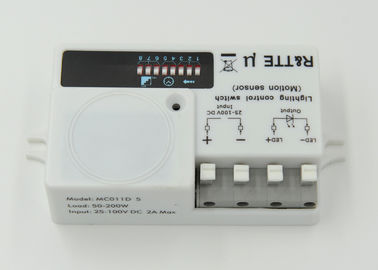 5.8GHz ISM Band 200w DC Motion Sensor With 16 Meter Wide Detection Area